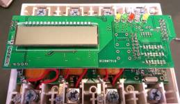 DDM100TC module, LCD board, front side